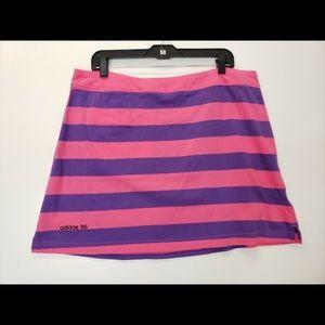 Adidas Women Skirt Stripes Tinnes Golf Size 16